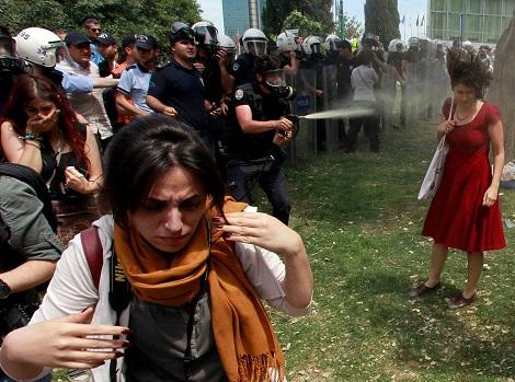 Taksim Gezi parkı resimleri