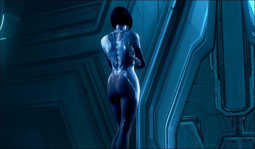 Naked cortana Warning: Nude,