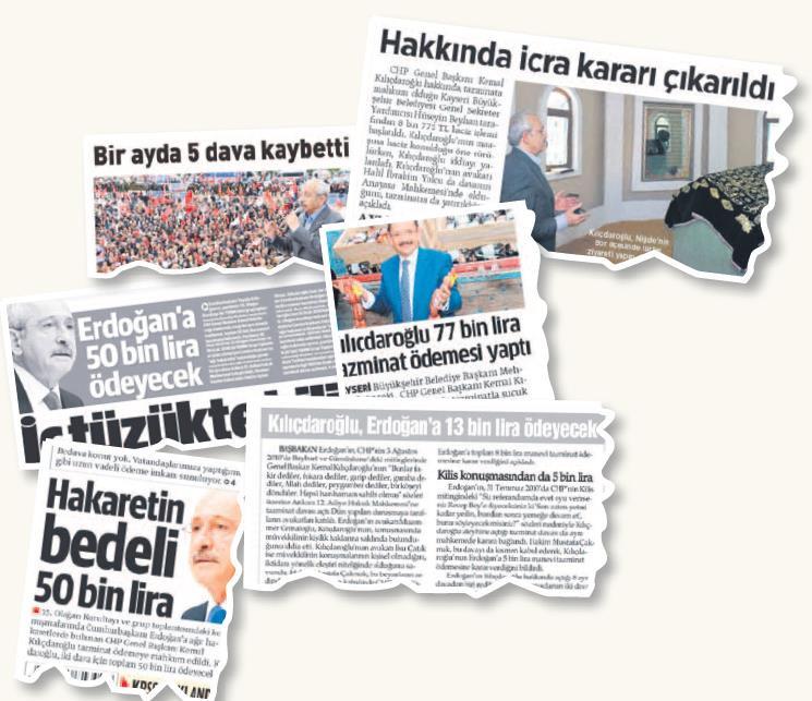 Erdoğan ne kadar tazminat kazandı?