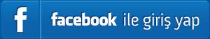 Facebook ile Giriş Yapın