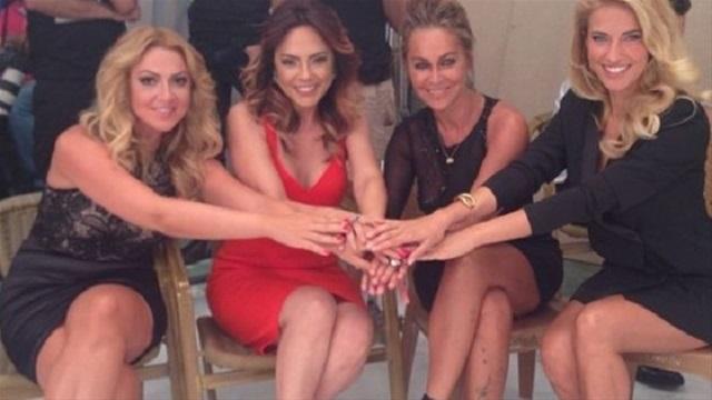 4 güzel terazi kadını aynı karede!