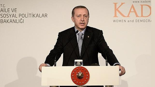 Erdoğan: Kadın erkek eşitliği fıtrata ters..