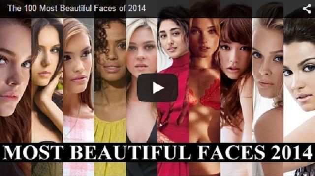 2014'ün En güzel yüzlü 100 kadını