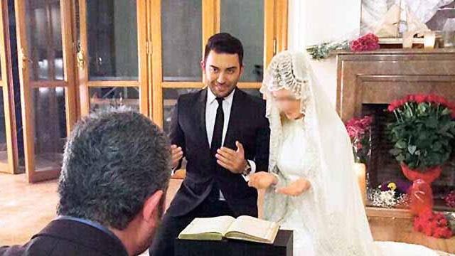 Wilma, müslüman olup, imam nikahı kıydırdı