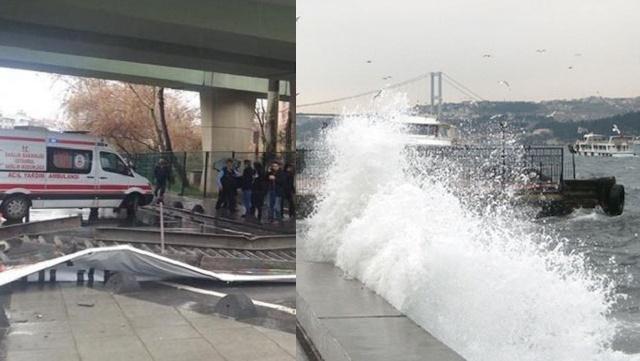 İstanbul'da alarm: İDO seferleri iptal, köprüde çökme!