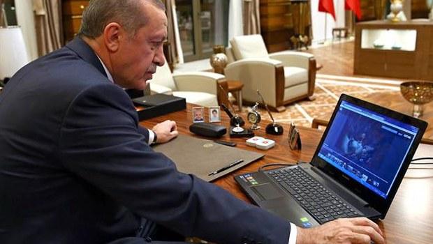 Erdoğan'a göre yılın en iyi fotoğrafı