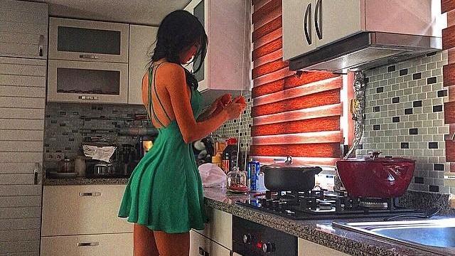 Cansu Taşkın'ın mutfak fantezisi