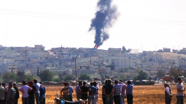 Kobani tamamen Kürt güçlerin eline geçti