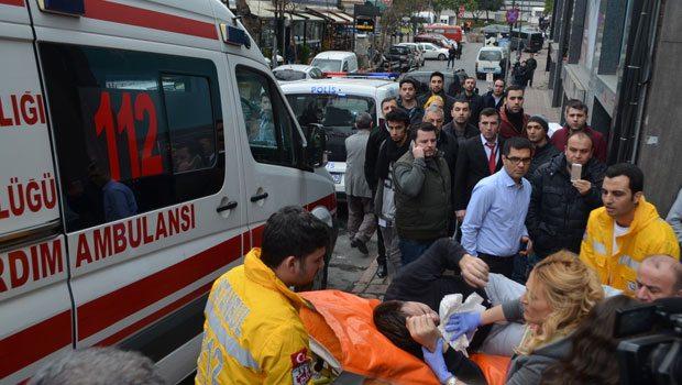 Şişli'de iş merkezine silahlı saldırı!