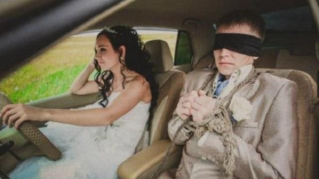 Çılgın Rus düğünlerinden tuhaf eğlenceler