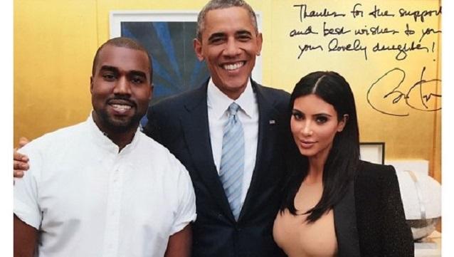 Obama'nın sol eli Kardashian'ın poposunda mı?