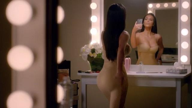 800 milyon kişi bunu bekliyordu! Kardashian'dan olay reklam