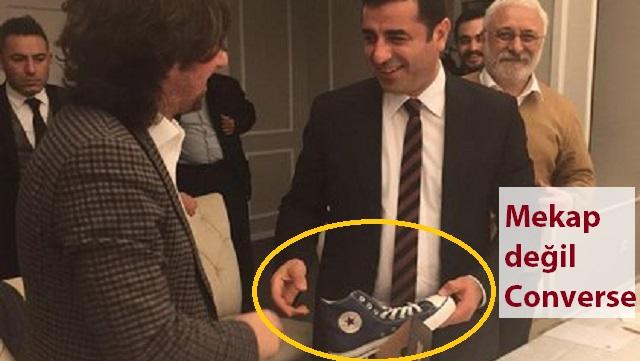 Demirtaş'a Genç Siviller'den ilginç hediye