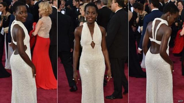 Oscar gecesinde giydiği elbise çalındı!
