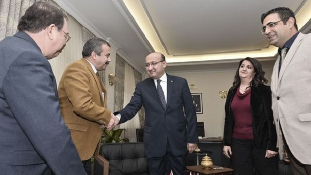 Akdoğan HDP heyetiyle bir araya gelecek