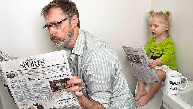 Dünyanın en iyi babası ve minik kızının 20 komik hali