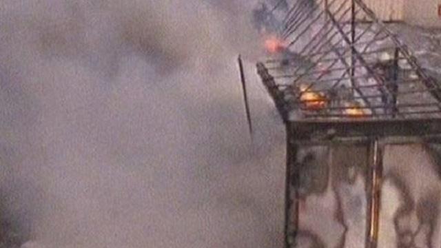 İstanbul'da patlama ve yangın!