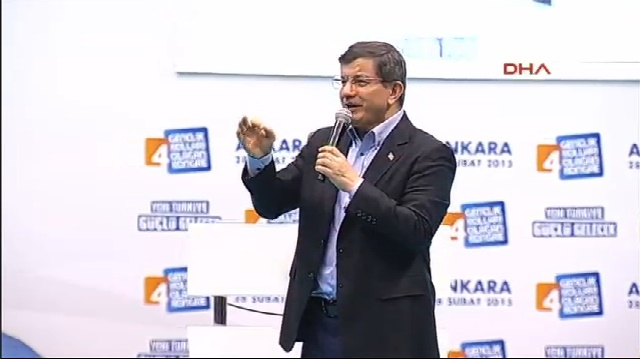 Davutoğlu: Yeni Türkiye eskisinin izlerini yerle bir edecek