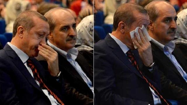 Erdoğan gözyaşlarını saklayamadı