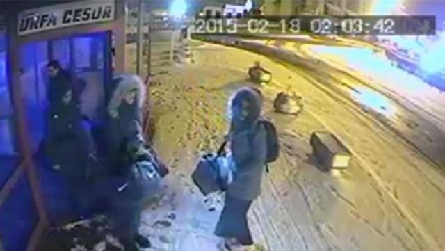 IŞİD'e katılan kızların İstanbul'da son görüntüsü