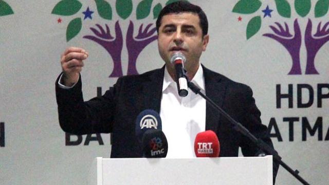 Demirtaş: PKK'ya silahı bıraktıracak AKP değil, HDP'dir