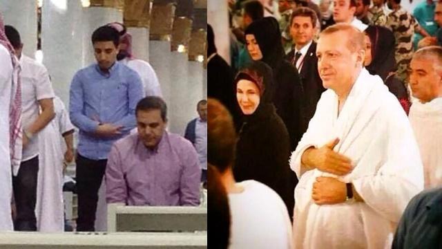 Hakan Fidan, Erdoğan'la aynı gün Umre'de görüntülendi