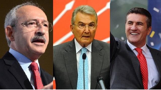 Kılıçdaroğlu, Baykal ve Sarıgül yarışıyor!