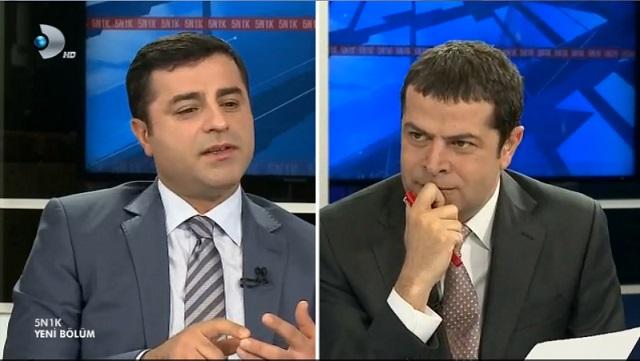 Kanal D'nin Demirtaş'a 2,5 saatlik ayıbı Twitter'ı salladı