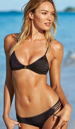 Candice Swanepoel bikini çekiminde