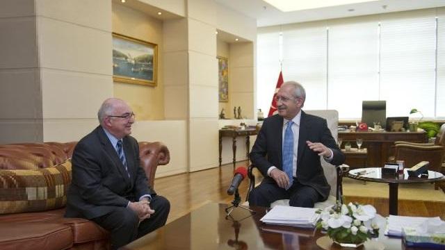 Kılıçdaroğlu, Derviş ile görüştü: Halkımız sizi takdirle anıyor