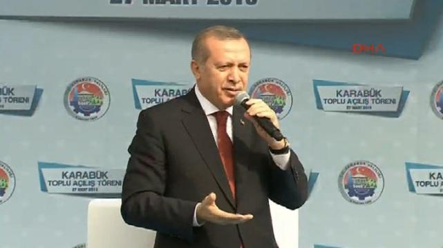 Erdoğan: Sıkıntı görürsem müdahale ederim..