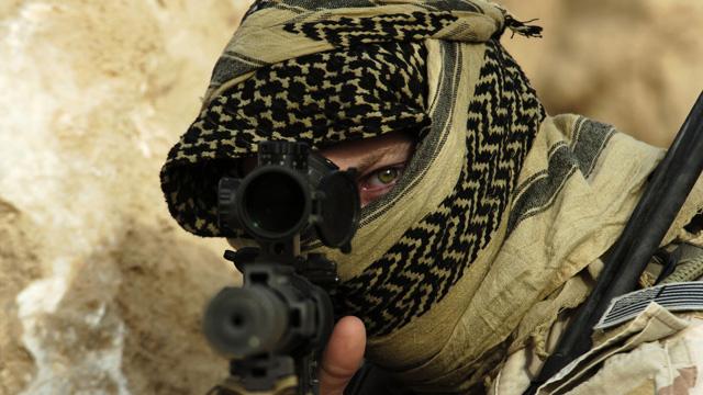 Irak sınırında teröristlerden taciz ateşi