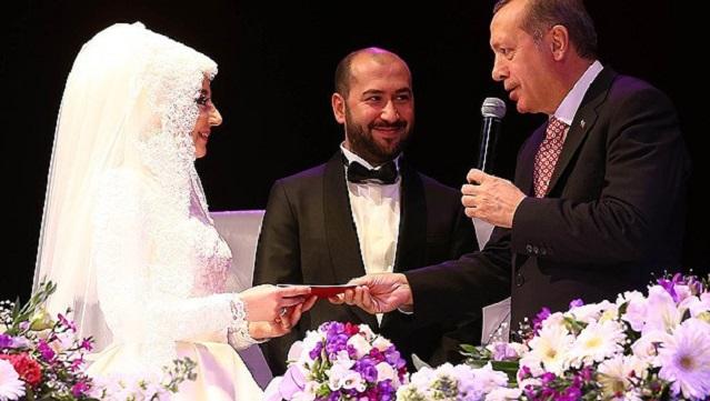 Erdoğan AKP'li vekilin kızının nikah şahidi oldu