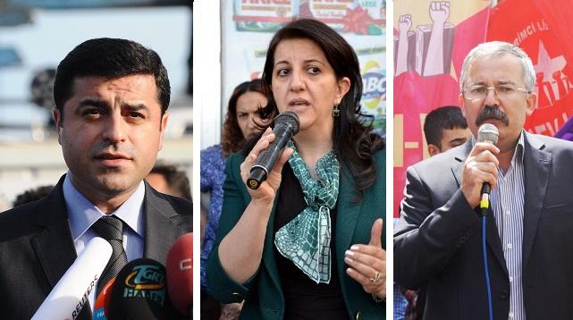 İşte HDP'in İstanbul'daki üç adayı: Demirtaş, Turan ve Buldan