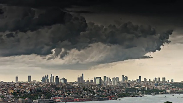 Beş dakikada İstanbul'un dört mevsimi
