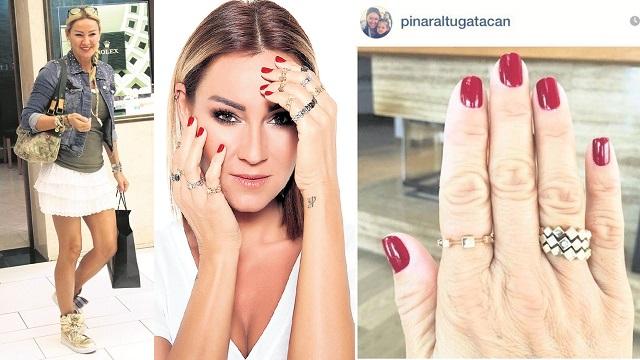Pınar Altuğ'un elleri şoke etti
