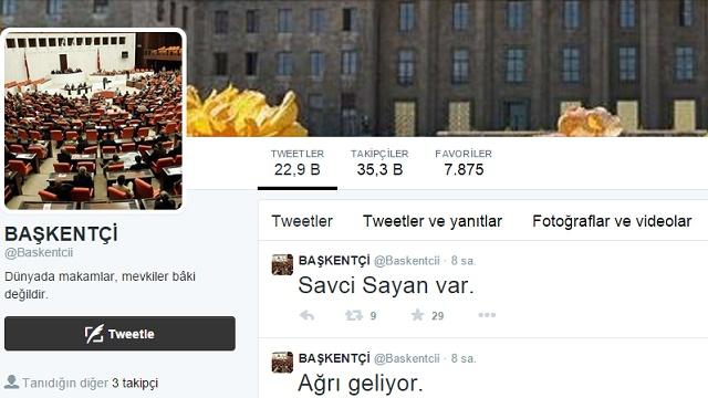 AK Parti o Twitter hesabının peşine düştü