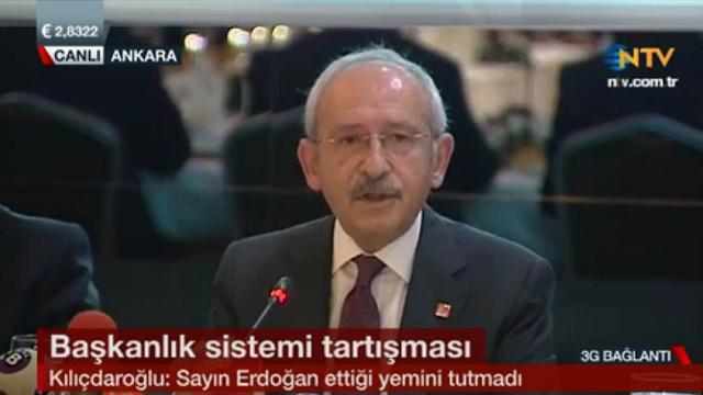 Kılıçdaroğlu: AKP'li adaylar boşuna afiş asıyor..