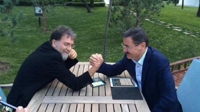 Ahmet Hakan'dan Melih Gökçek'e şok tweet!