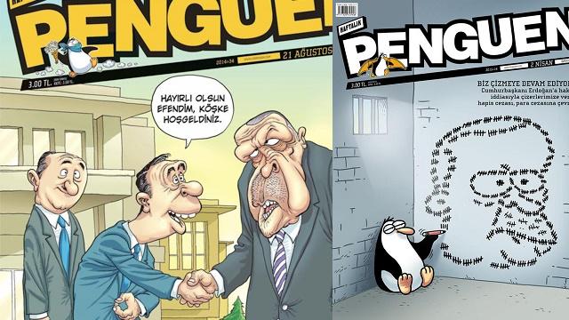 Penguen'den çok konuşulacak Erdoğan kapağı
