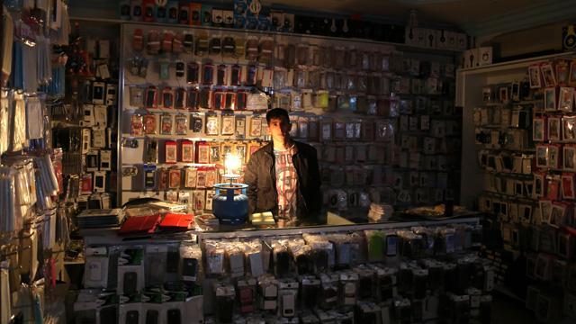 Elektrik kesintisi için bomba iddialar