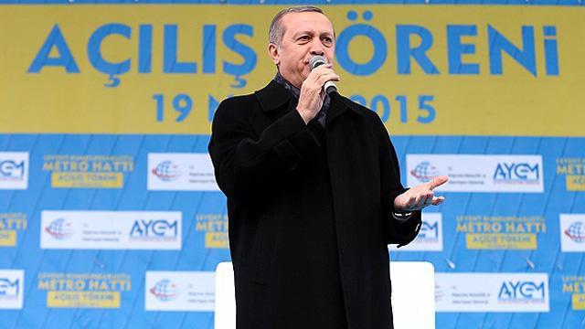 Erdoğan: Koalisyon denen çürük ipe sarılmak...