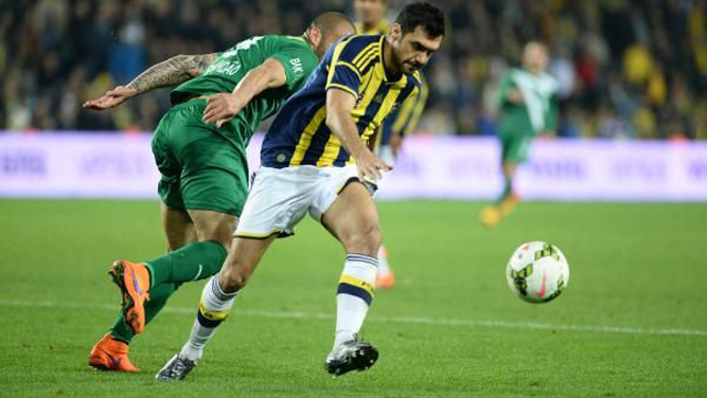 Fenerbahçe 1-0 Bursaspor Kanarya liderlik koltuğunda