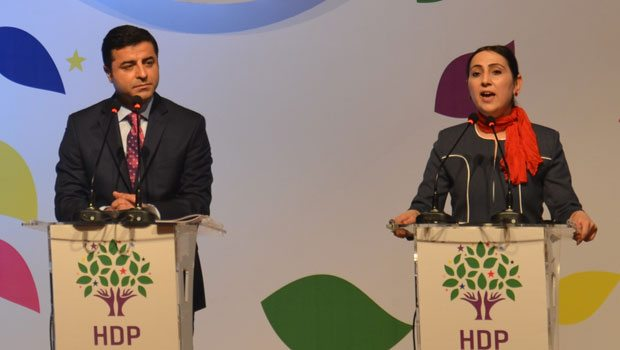 HDP'nin seçim bildirgesinde ortak vatan vurgusu..