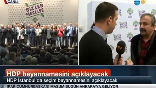 Sırrı Süreyya, NTV canlı yayınında NTV'yi eleştirdi!
