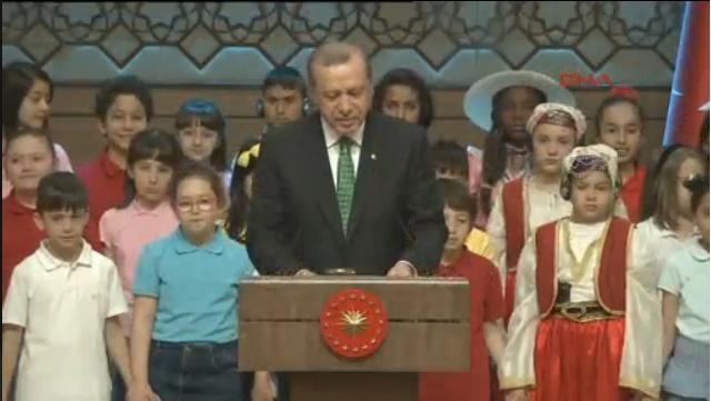 Erdoğan: Çocuklara kıymayın efendiler..