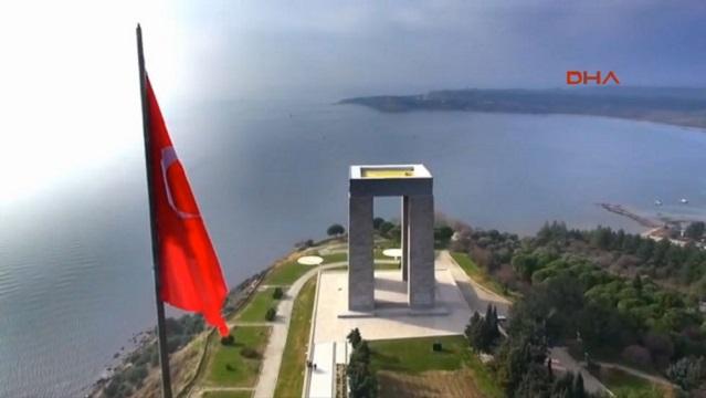 Deniz Kuvvetleri'nden muhteşem Çanakkale klibi