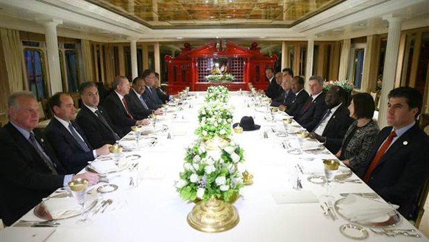 Erdoğan'dan Çanakkale Boğazı'nda özel akşam yemeği