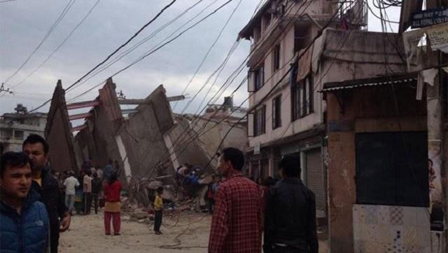Nepal'de 7,9 büyüklüğünde deprem: 688 ölü