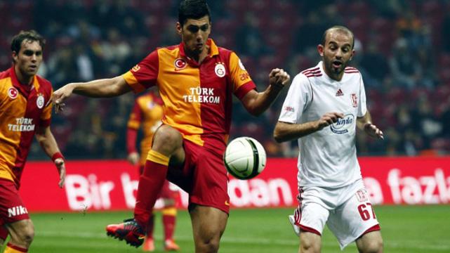 Galatasaray 1-0 Gaziantepspor.. Aslan zirvede